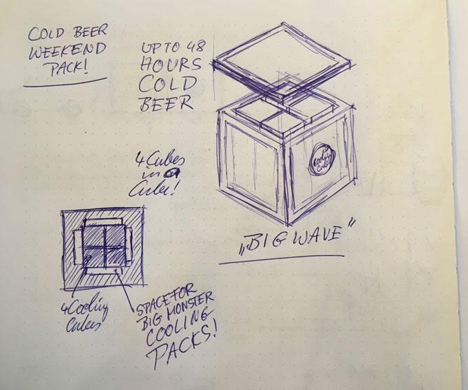 Cooling Cubes Big Box - 48 Stunden kaltes Bier