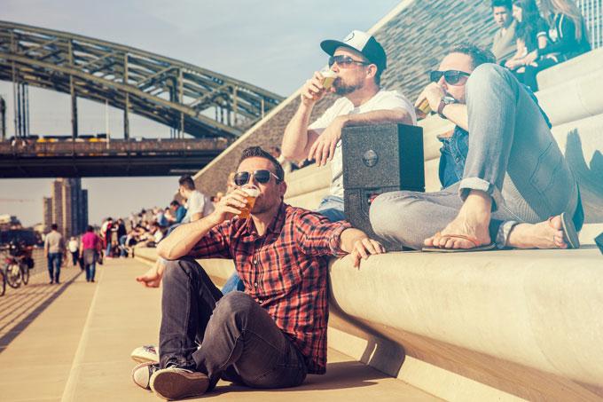 Das Cooling Cubes Gründerteam - Eiskaltes Bier immer und überall