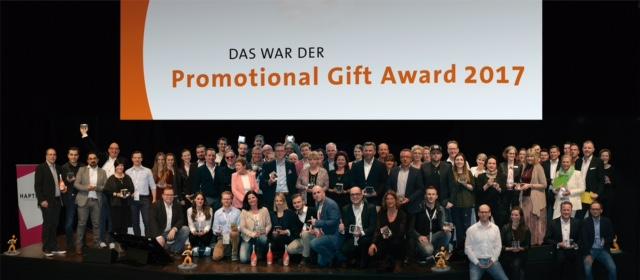 Die Gewinner des Promotional Gift Awards 2017